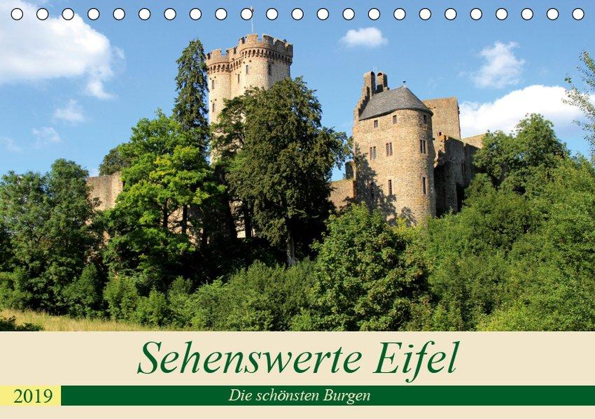Sehenswerte Eifel - Die schönsten Burgen (Tisch...