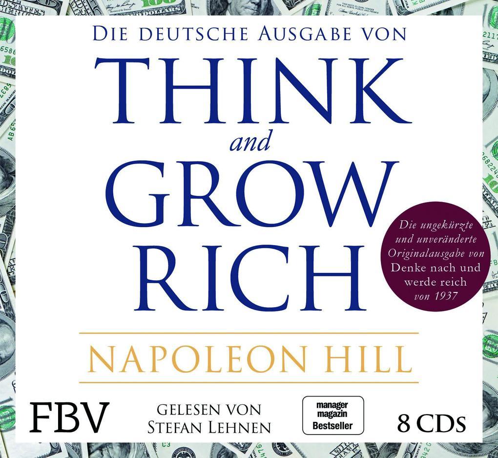Think and Grow Rich - Deutsche Ausgabe als Hörbuch