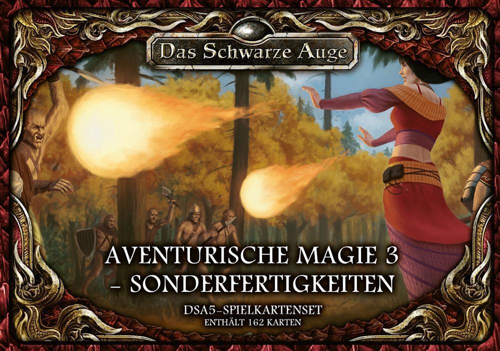 Image of Das Schwarze Auge, DSA5-Spielkartenset Aventurische Magie 3 - Sonderfertigkeiten