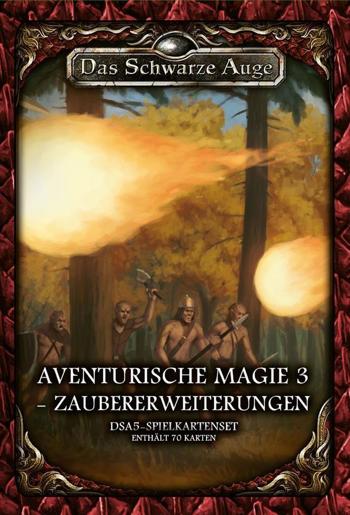 Image of Das Schwarze Auge DSA5 -Spielkartenset Aventurische Magie 3 - Zaubererweiterung
