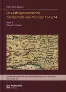 Das Tafelgutverzeichnis des Bischofs von Münster 1573/74