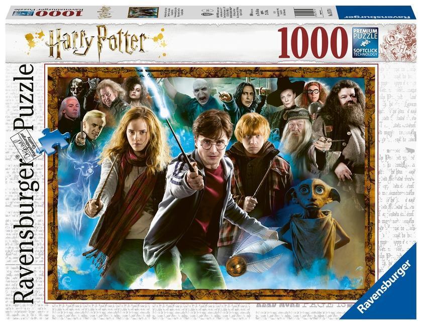 Der Zauberschüler Harry Potter - Puzzle mit 1000 Teilen als sonstige Artikel