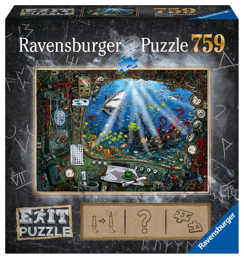 Exit 4 Im U-Boot - Puzzle mit ca. 750 Teilen als sonstige Artikel