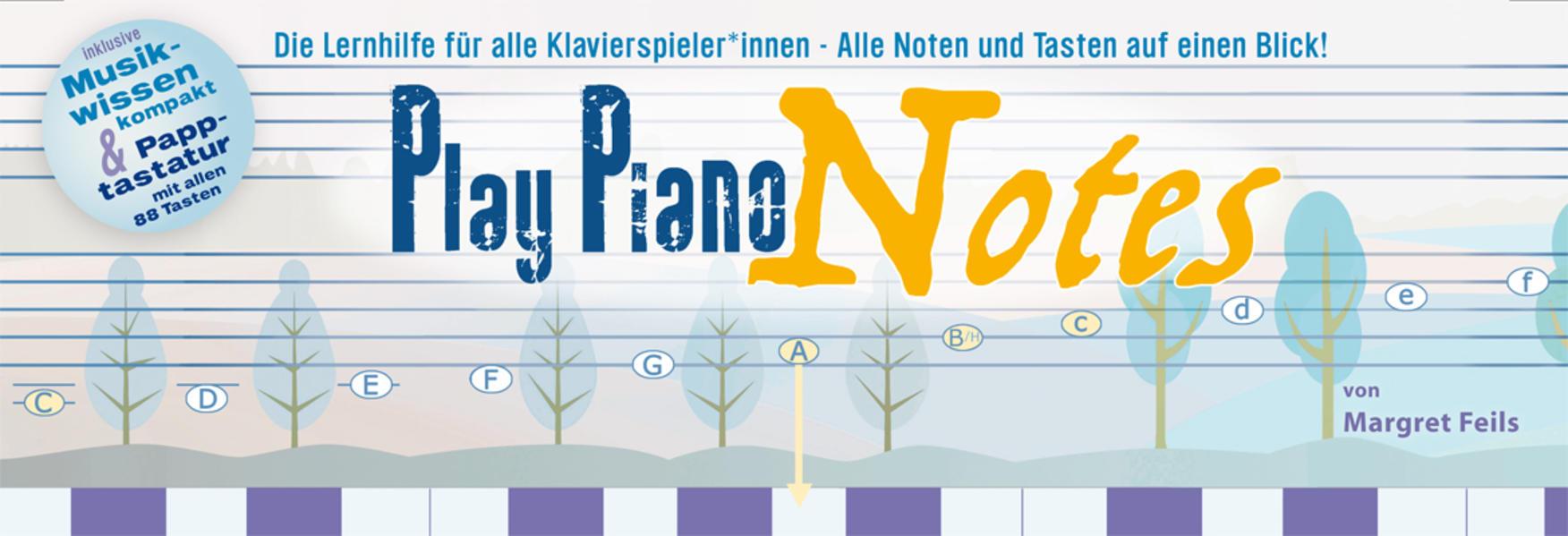 Play Piano Notes als sonstige Artikel