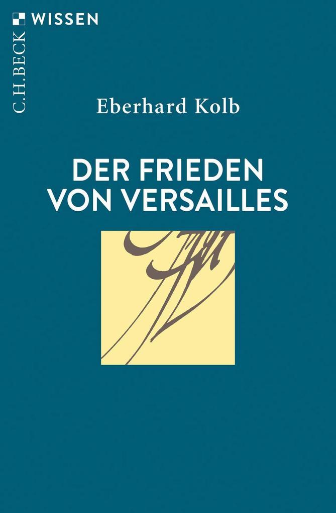 Der Frieden von Versailles als Taschenbuch