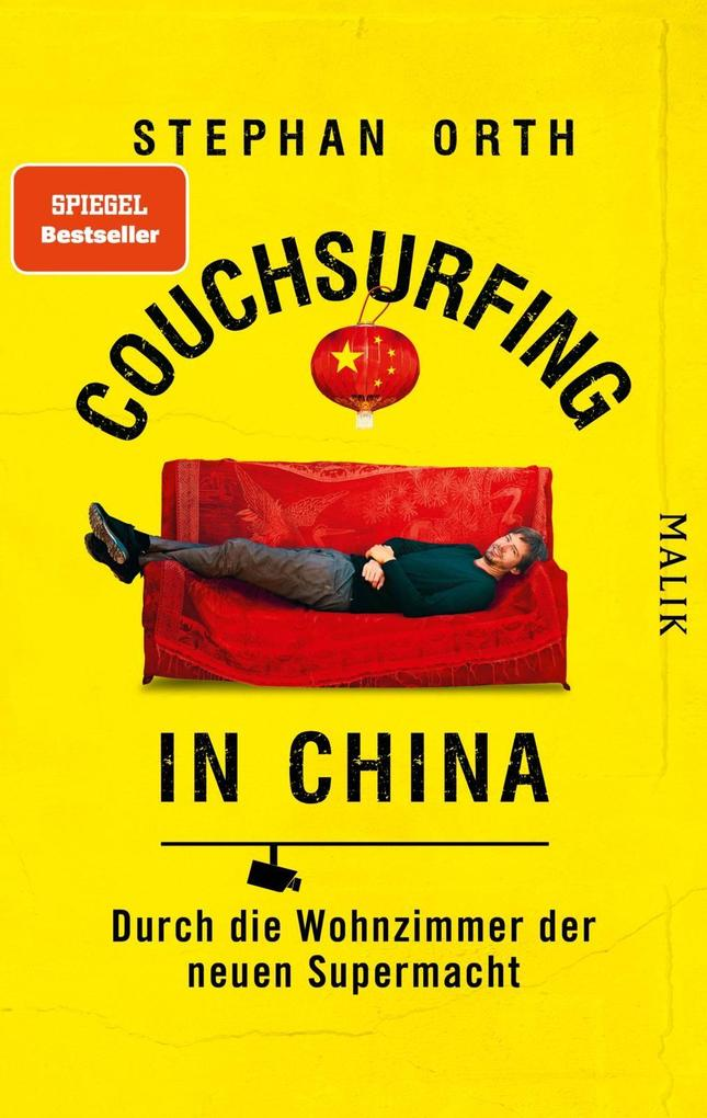 Couchsurfing in China als Buch