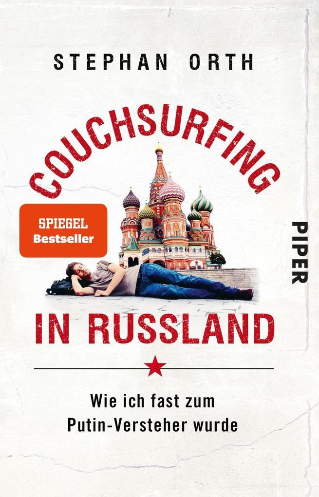 Couchsurfing in Russland als Taschenbuch