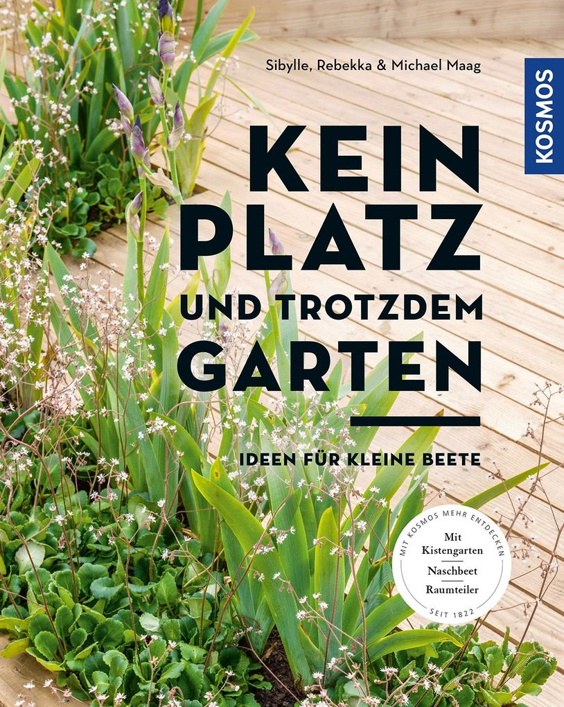 Kein Platz und trotzdem Garten als Buch