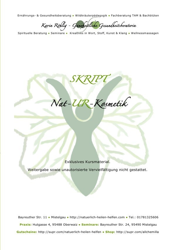 Skript: Nat-UR-Kosmetik als Buch