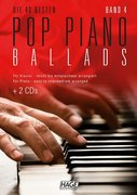 Pop Piano Ballads 4 (mit 2 CDs + Midifiles, USB-Stick)