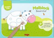 Kreativ Kids - Malblock Bauernhof¹