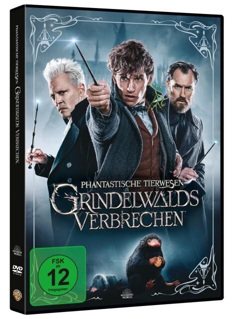 Phantastische Tierwesen: Grindelwalds Verbrechen als DVD