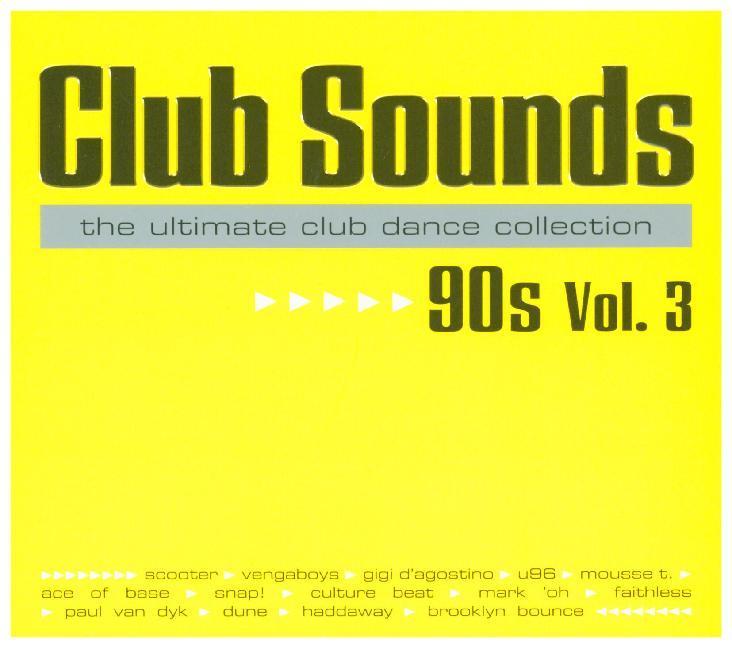Club Sounds 90s, Vol. 3 als CD