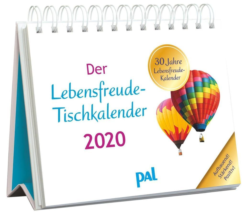 Der Lebensfreude-Tischkalender 2020 als Kalender