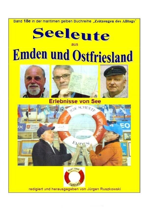 Seeleute aus Emden und Ostfriesland - Erlebnisse von See als Buch