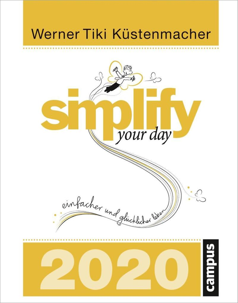 simplify your day 2020 als Kalender