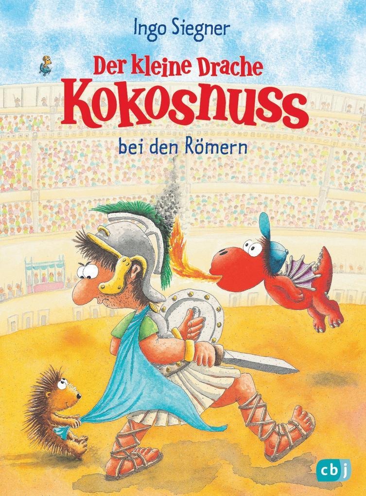 Der kleine Drache Kokosnuss bei den Römern als Buch