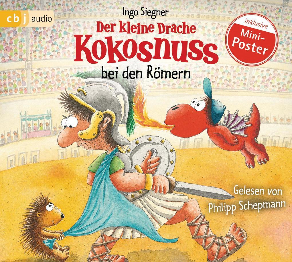 Der kleine Drache Kokosnuss bei den Römern als Hörbuch