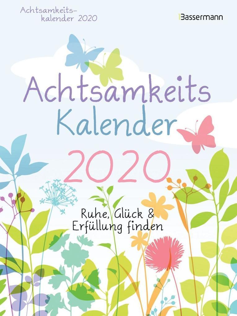 Achtsamkeitskalender 2020 - Abreißkalender als Kalender