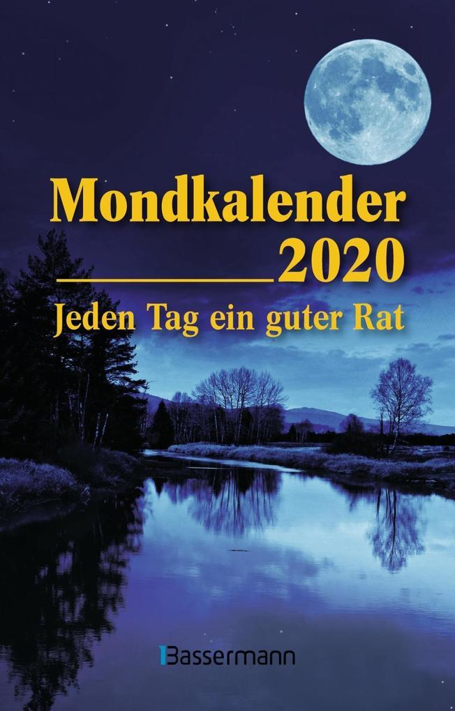 Mondkalender 2020 Taschenkalender als Kalender