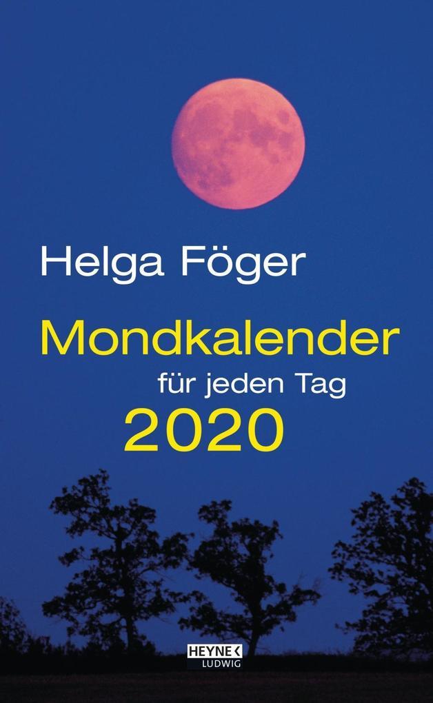 Mondkalender für jeden Tag 2020 Abreißkalender als Kalender