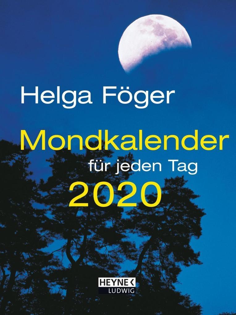 Mondkalender für jeden Tag 2020 Taschenkalender als Kalender