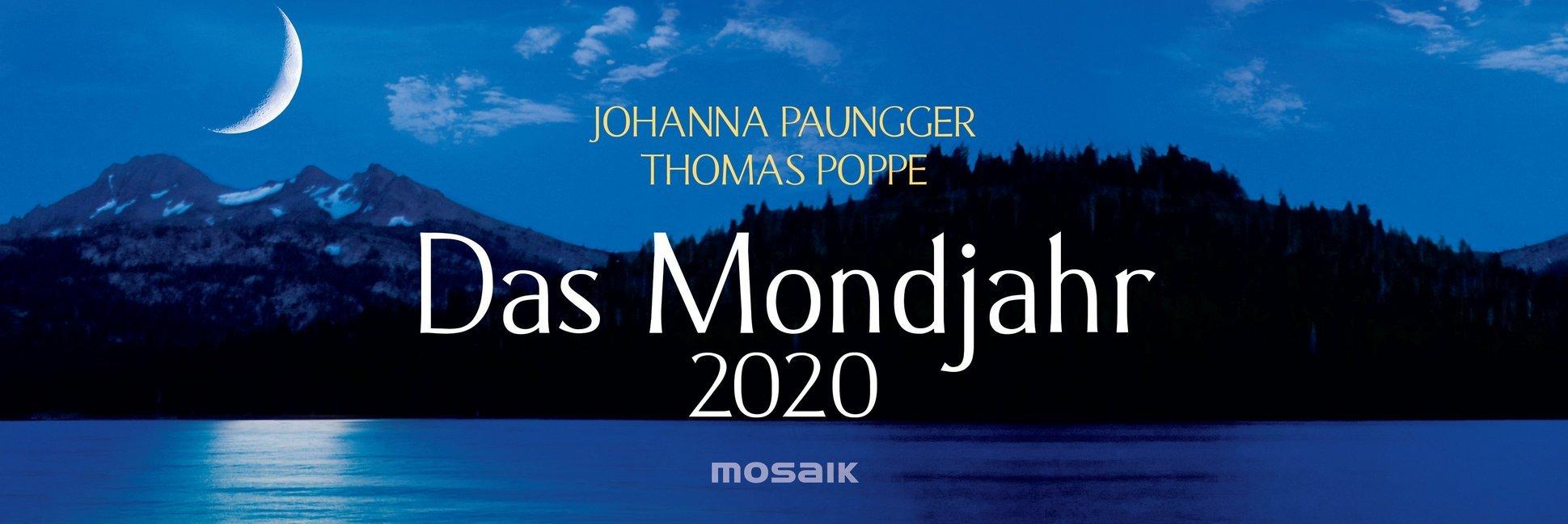 Das Mondjahr 2020 Wochenkalender als Kalender