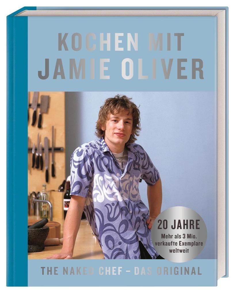 Kochen mit Jamie Oliver als Buch