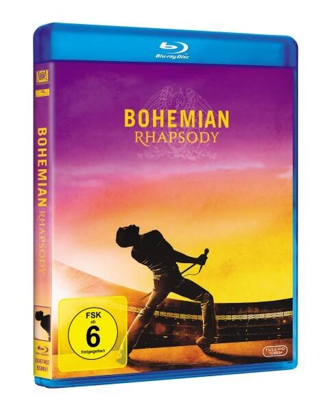 Bohemian Rhapsody als Blu-ray