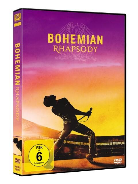 Bohemian Rhapsody als DVD