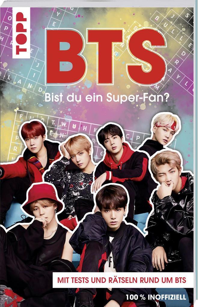BTS Bist du ein Super-Fan? (DEUTSCHE AUSGABE) als Buch