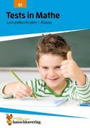 Tests in Mathe - Lernzielkontrollen 1. Klasse, A4- Heft