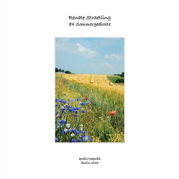 84 Sommergedichte als Buch (kartoniert)