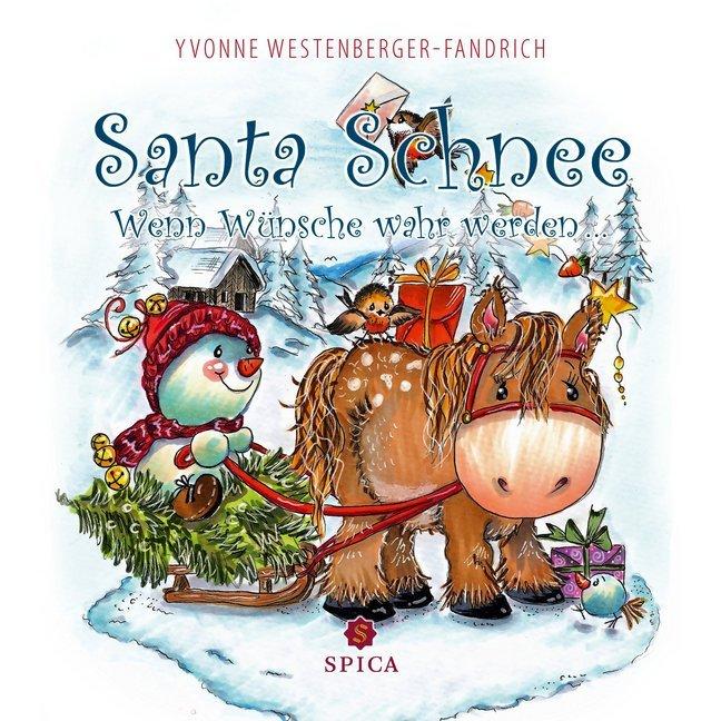 Santa Schnee als Buch