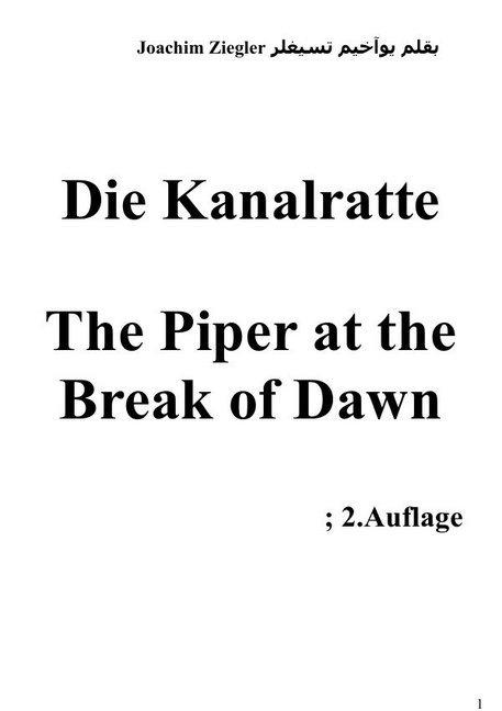 Die Kanalratte The Piper at the Break of Dawn als Buch (kartoniert)