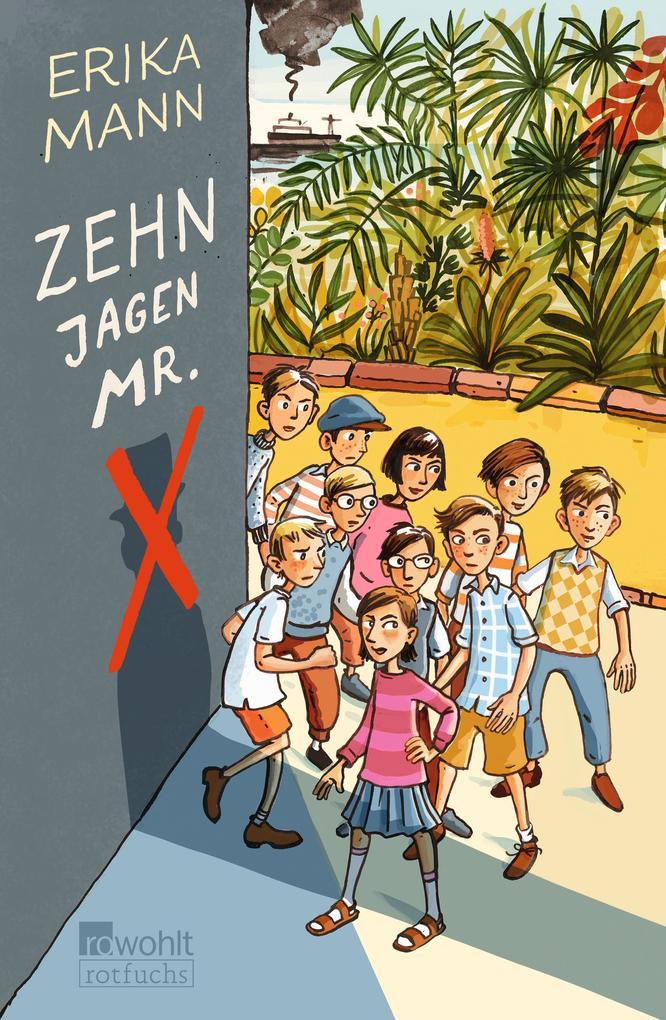 Zehn jagen Mr. X als Buch