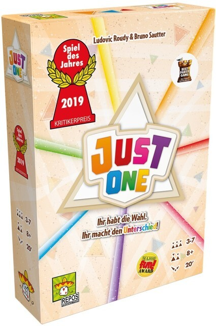 Image of Asmodee Just One - Spiel des Jahres 2019