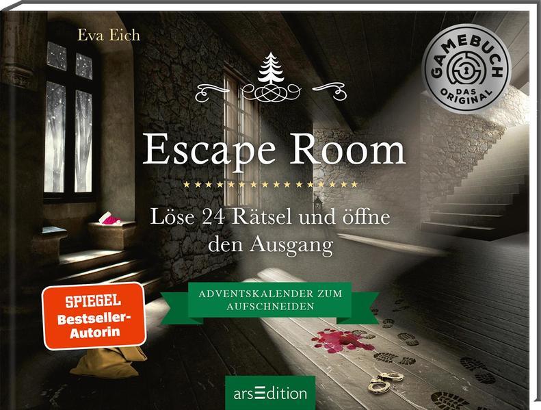 Escape Room. Der erste Escape-Adventskalender als Buch (gebunden)