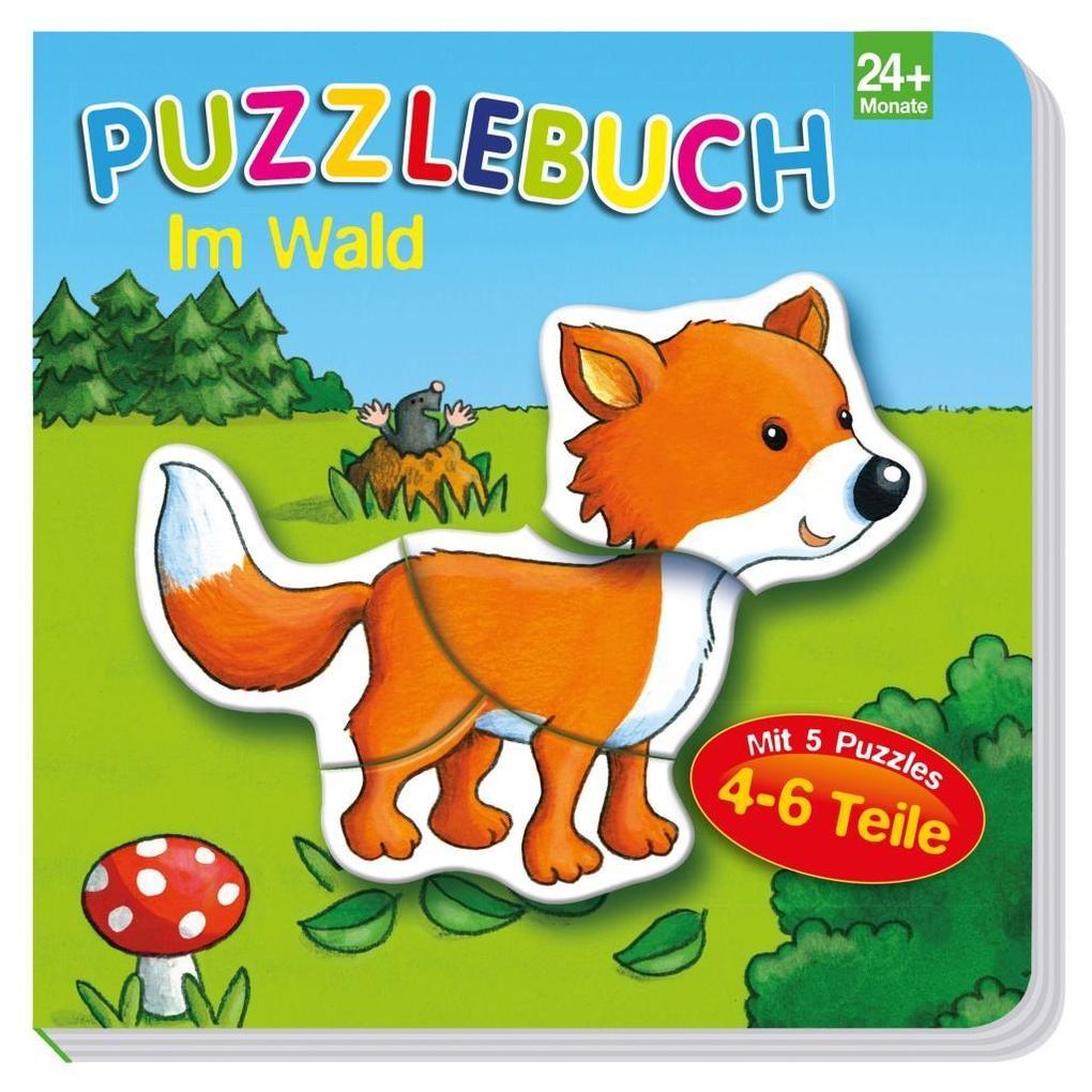 Puzzlebuch Im Wald als Buch