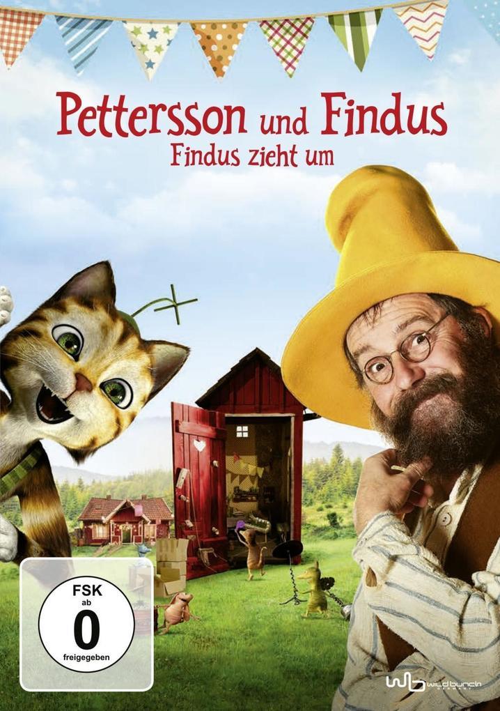 Pettersson und Findus - Findus zieht um als DVD