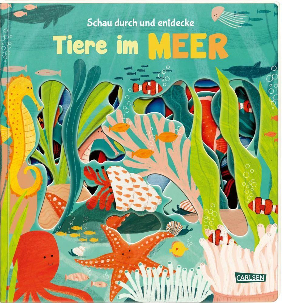 Schau durch und entdecke: Tiere im Meer als Buch