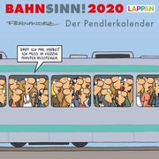 Bahnsinn! Der Pendlerkalender 2020 - Postkartenkalender