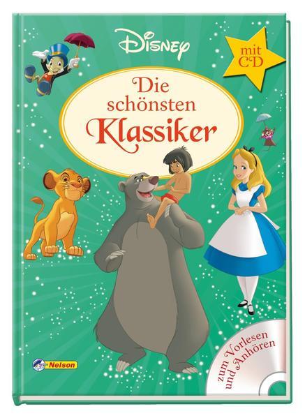 Disney Klassiker Die Schönsten Klassiker Mit Cd Buch