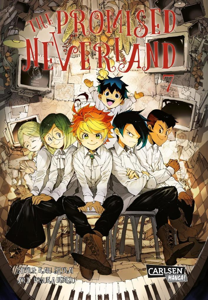 The Promised Neverland 7 als Buch