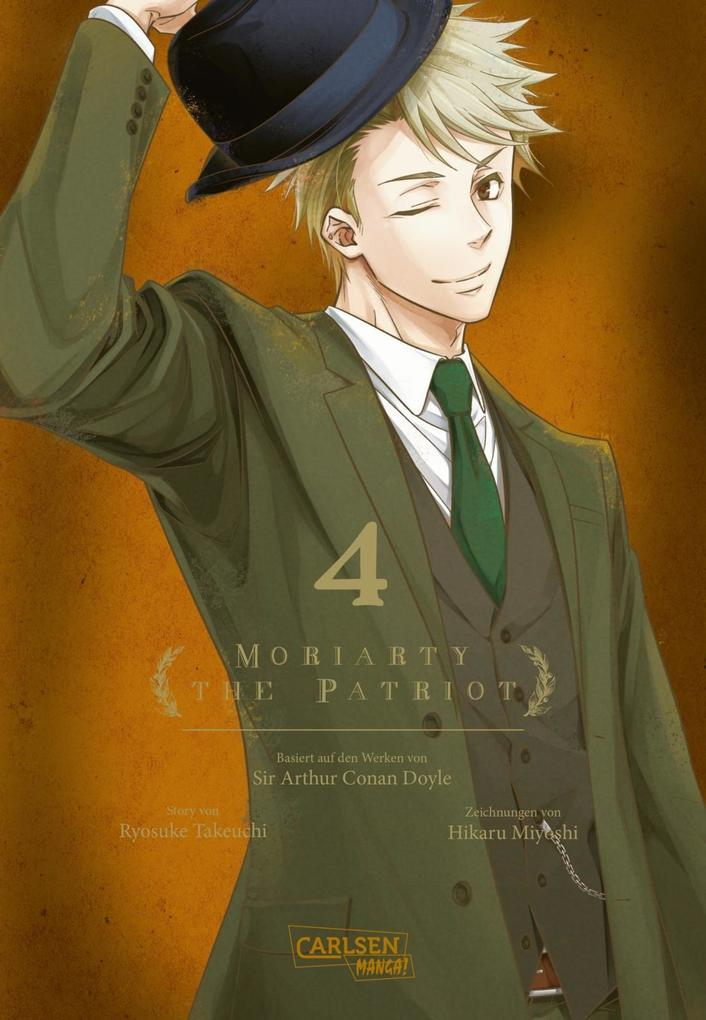 Moriarty the Patriot 4 als Buch