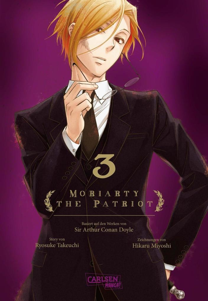 Moriarty the Patriot 3 als Buch