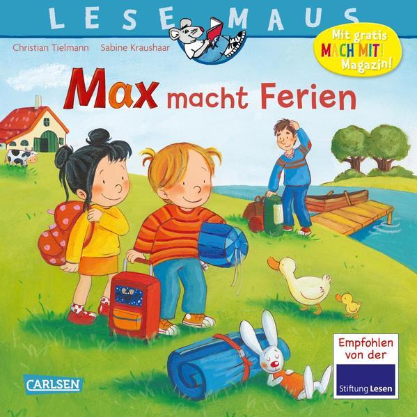 LESEMAUS 113: Max macht Ferien als Buch