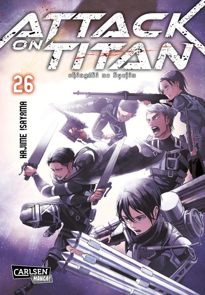 Attack on Titan 26 als Buch