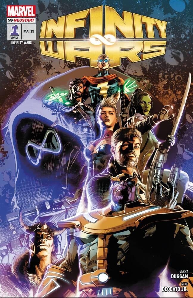 Infinity Wars als Taschenbuch