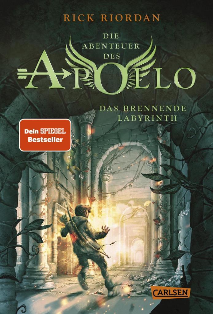 Die Abenteuer des Apollo 3: Das brennende Labyrinth als eBook
